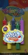 Kredki do kąpieli 5 kolorów Colorino Kids