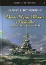 Aleuty, Wyspy Gilberta i Marshalla