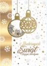 Karnet świąteczny BN B6 knf świecki MIX