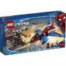Lego Marvel Spider-Man: Pajęczy odrzutowiec kontra mech Venoma (76150)