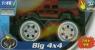 Monster truck 4x4 z dźwiękiem 1:48 czerwony