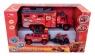 Explorer Team ciężarówka terenówka i quad czerwone
