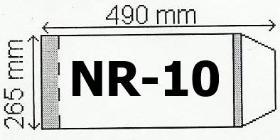 Okładka na podr A4 regulowana nr 10 (50szt) NARNIA