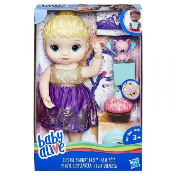 Baby Alive Urodzinowa lala (E0596)