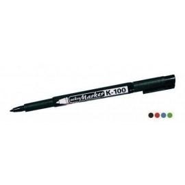 Mikro marker K100  permanentny czarny