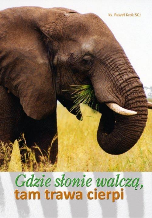 Gdzie słonie walczą, tam trawa cierpi Paweł Krok scj (ks.)