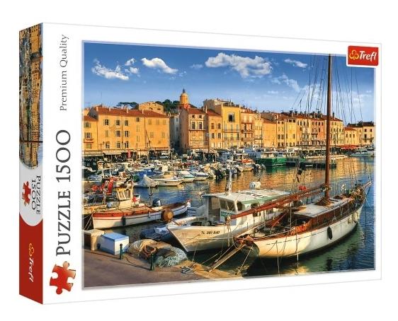 Puzzle 1500: Stary Port w Saint Tropez (26130)