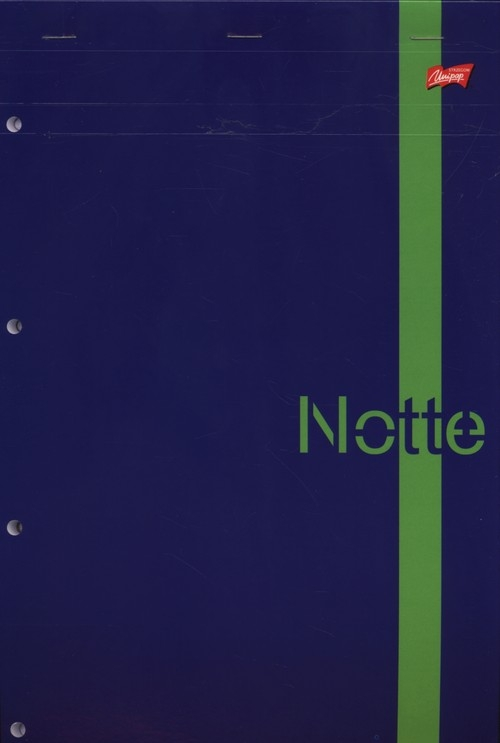 Notatnik z perforacją A4 w kratkę 80 kartek w kratkę