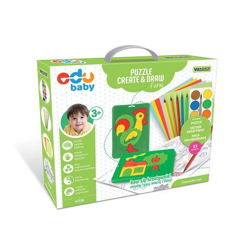 Puzzle Create & Draw Farm (42130)