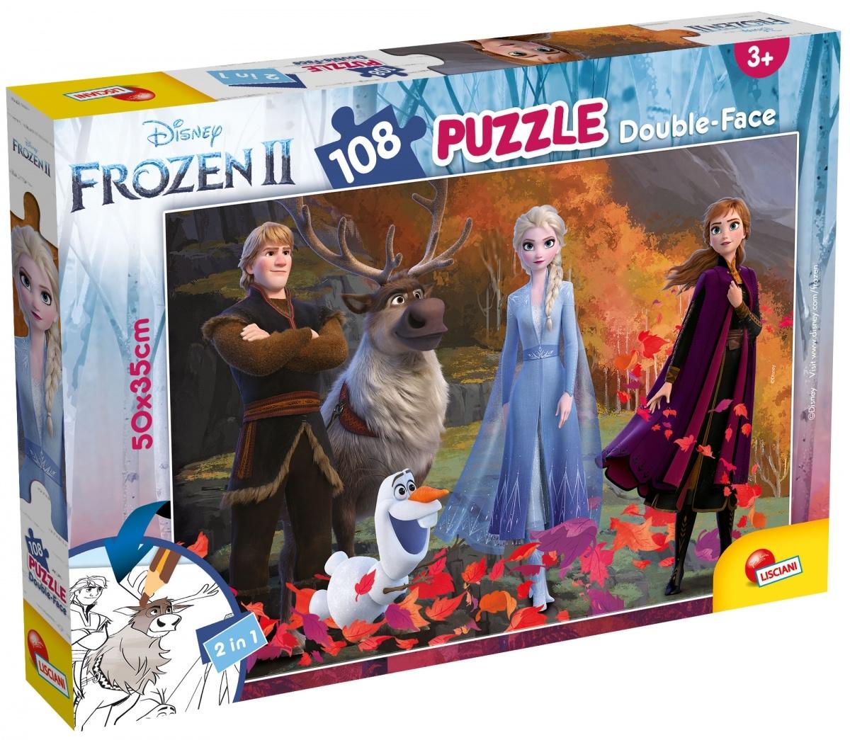 Puzzle dwustronne Plus 108: Frozen 2 (304-81301)