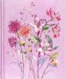 Notatnik duży Fioletowe Dzikie Kwiaty