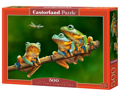 Puzzle 500: The Frog Companions (52301)