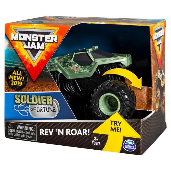 Monster Jam: Superterenówka Warczące opony - Soldier Fortune (6044990/20103739)