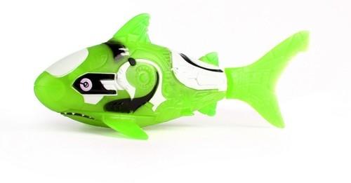 Robofish Rybka 2 Koralowce i Zamek rekin zielony