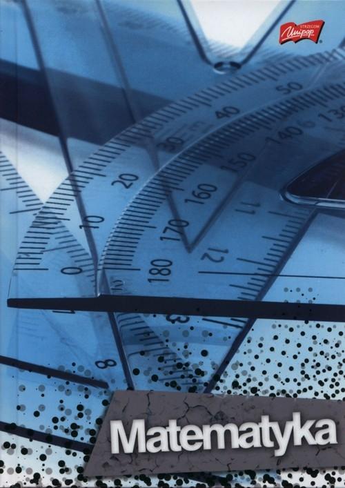 Brulion A5 w kratkę 80 kartek Matematyka 5 sztuk