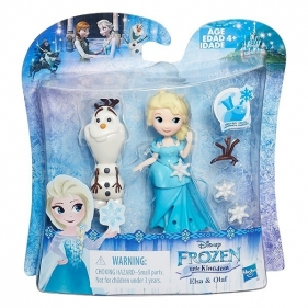 Mini Laleczka z przyjacielem - Elsa i Olaf