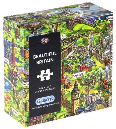 Puzzle 500 Piękna Brytania G3