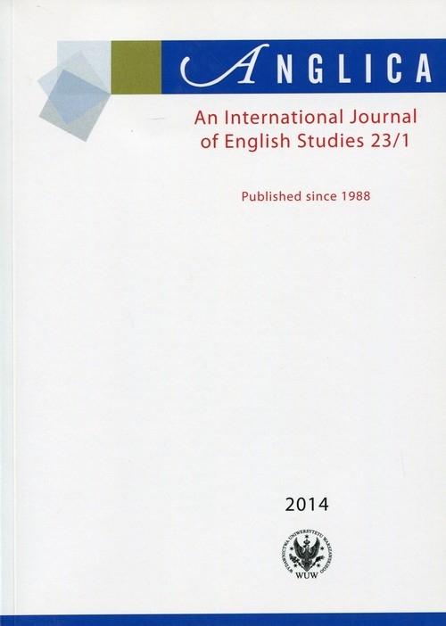 Anglica An International Journal of English Studies 23/1