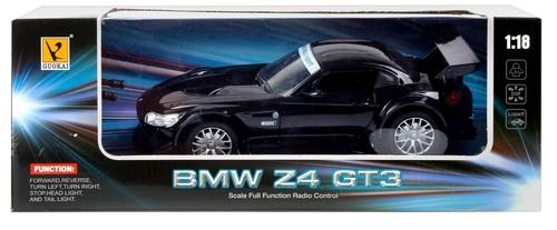 BMW Z4 GT3 zdalnie sterowane czarne (418950)