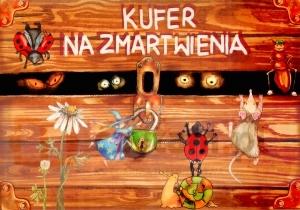 Kufer na zmartwienia Aneta  Lupa - Marcinowska