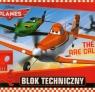 Blok techniczny A4 Planes 10 kartek The Skies