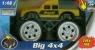 Monster truck 4x4 z dźwiękiem 1:48 żółty