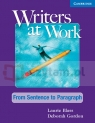 Writers at Work: From Sentence to Paragraph SB