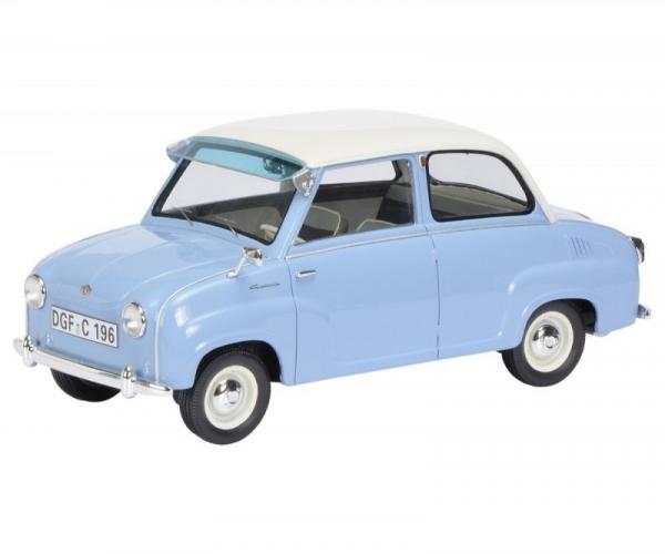 Goggomobil Limousine (light blue/white) (450009600)