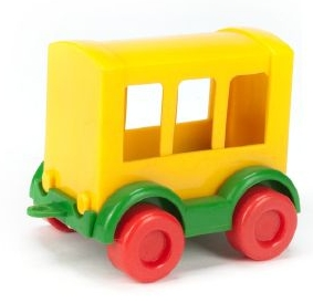 Kid Cars - wagonik trójokienny (60000)