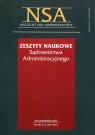Zeszyty Naukowe Sądownictwa Administracyjnego 2/2011