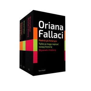 Pakiet: Wywiad z historią / Tylko ja  mogę napisać swoją historię / Podróż po Ameryce Oriana Fallaci