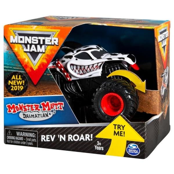 Monster Jam: Superterenówka Warczące opony - Monster Mutt Dalmatian (6044990/20103736)