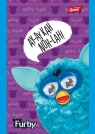 Notatnik A7 Furby w kratkę 50 stron fioletowy