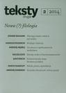 Teksty drugie 2/2014 Nowa filozofia