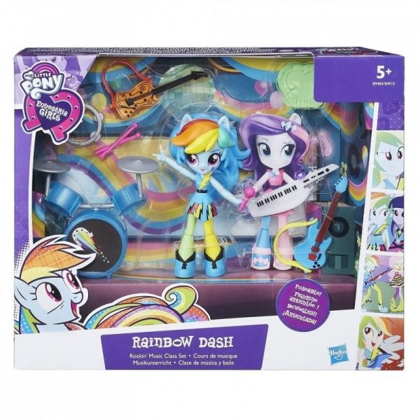 MY LITTLE PONY EQUESTRIA GIRLS MINI Zestaw opowieści, Rainbow Dash (B4910/B9484)