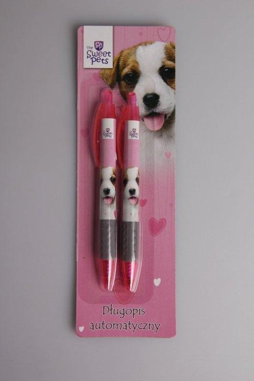 Długopis automatyczny Pies 2 sztuki The Sweet Pets