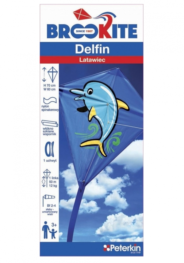 Brookite Latawiec Delfin