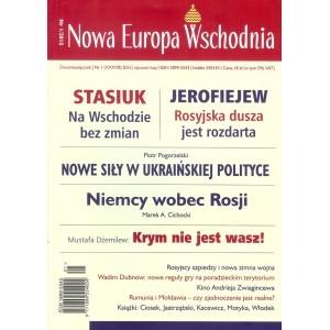Nowa Europa Wschodnia. 1/2015 PRACA ZBIOROWA