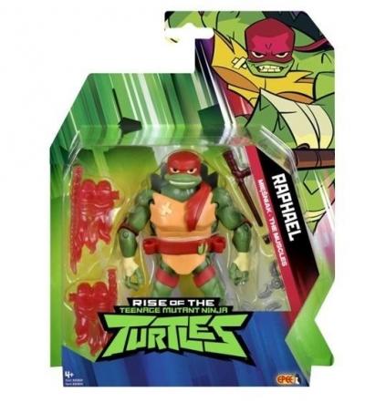 Wojownicze Żółwie Ninja: Figurka podstawowa z akcesoriami - Raphael (80800/80804)