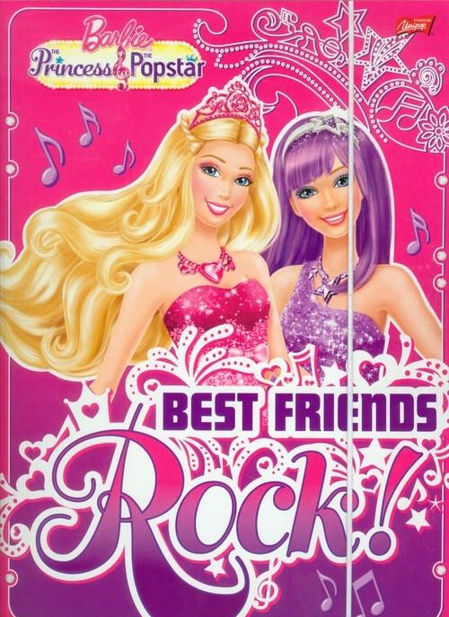 Teczka z gumką A4 Barbie Best Friends Rock
