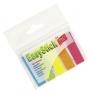 Zakładki indeksujące plastikowe 5x25 sztuk mix