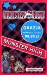 Monster High Upiorna szkoła / Upiór z sąsiedztwa / Po moim trupie / O wilku mowa / Zabójczo stylowy notes