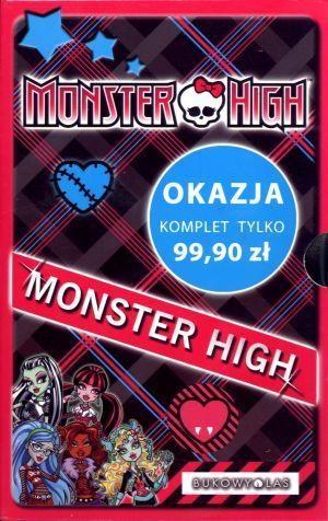 Monster High Upiorna szkoła / Upiór z sąsiedztwa / Po moim trupie / O wilku mowa / Zabójczo stylowy notes Harrison Lisi