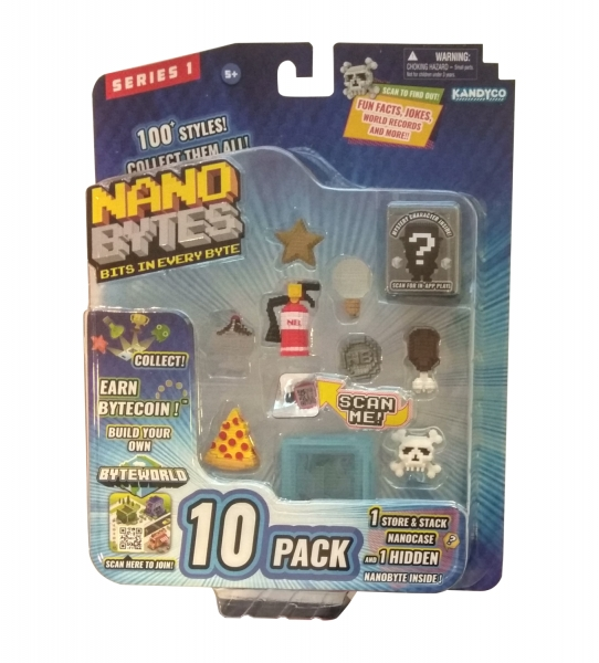 NanoBytes - Zestaw edukacyjny #3, 10 elementów (009-8011)