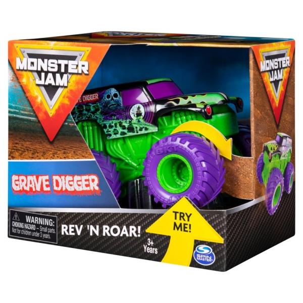 Monster Jam: Superterenówka Warczące opony - Grave Digger (6044990/20103737)