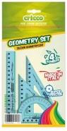 Zestaw geometryczny 4 elementy niebieski (CR610)