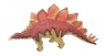 Dinozaury malowane - Stegosaurus
