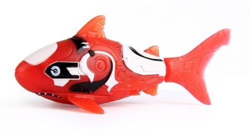 Robofish Rybka 2 Koralowce i Zamek czerwony rekin