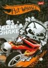 Zeszyt A5 Hot Wheels w kratkę 16 kartek Bone Shake