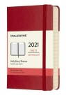 Kalendarz 2021 dzienny 12MP tw. scarlet red